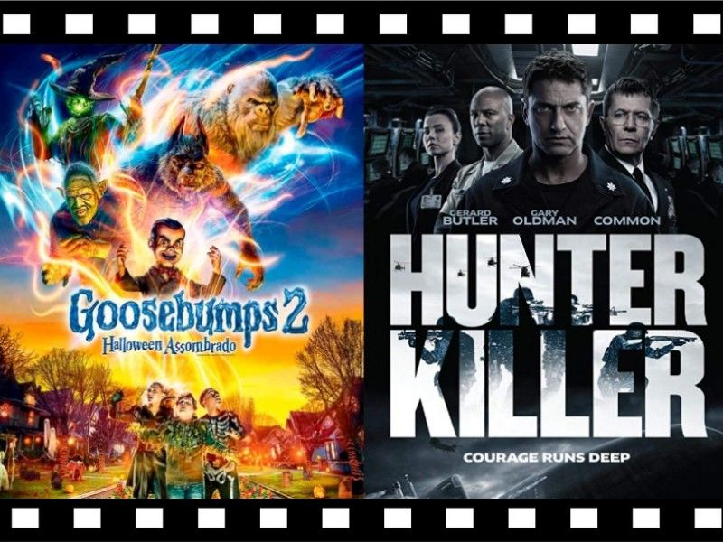 Movie Review Double-Feature: 'Goosebumps 2' and 'Hunter Killer'
