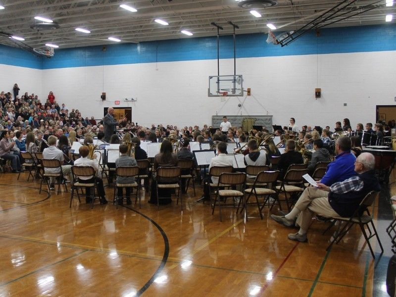 Shell Lake Arts Center Hosted 2018 Middle School Honors Band