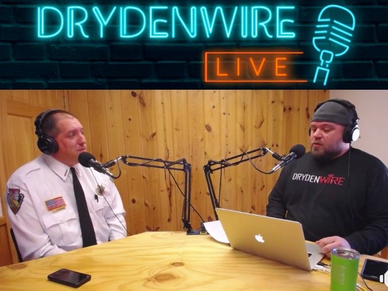 WATCH: Sheriff Fitzgerald Discusses Jayme Closs Investigation on DrydenWire Live!