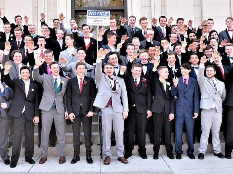Wisconsin High School Class Give Nazi Salutes, White Power Sign in Prom Photo