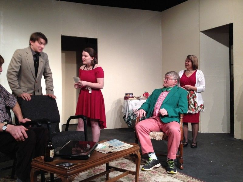 Theatre In The Woods At The Quam Memorial Theater Presents: 'A Nice Family Christmas'
