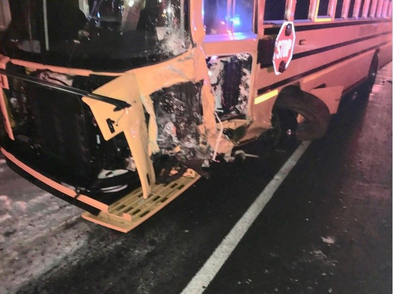 School Bus Vs Car Crash Results in Fatality