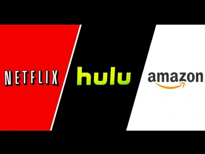 Image result for netflix hulu amazon