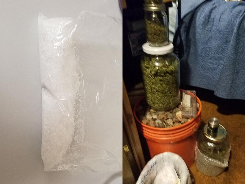 Police Seize Large Amount Of Meth, Pot Following Execution Of Search Warrant