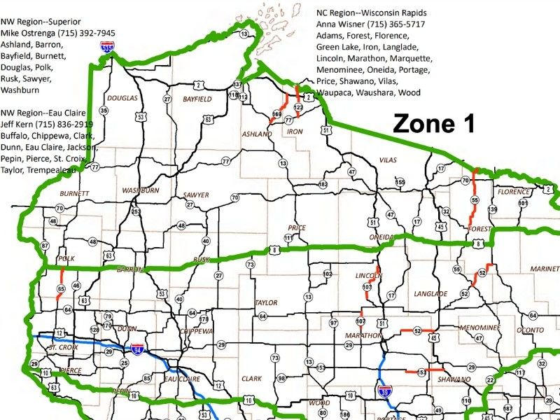 Frozen Road Law Takes Effect Wednesday In Northern Wisconsin
