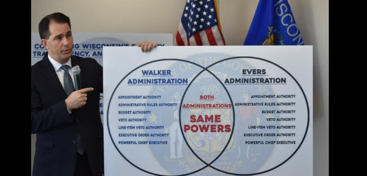Walker Signs 'Lame Duck' Bills
