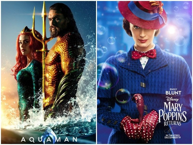 Double Feature Movie Review: 'Aquaman' And 'Mary Poppins Returns'