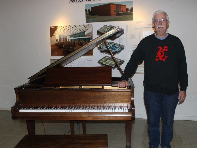 Shell Lake Arts Center Receives Donation Of Grand Piano