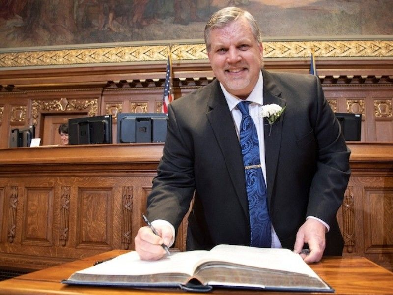 Representative Stafsholt Sworn In To Serve Second Term