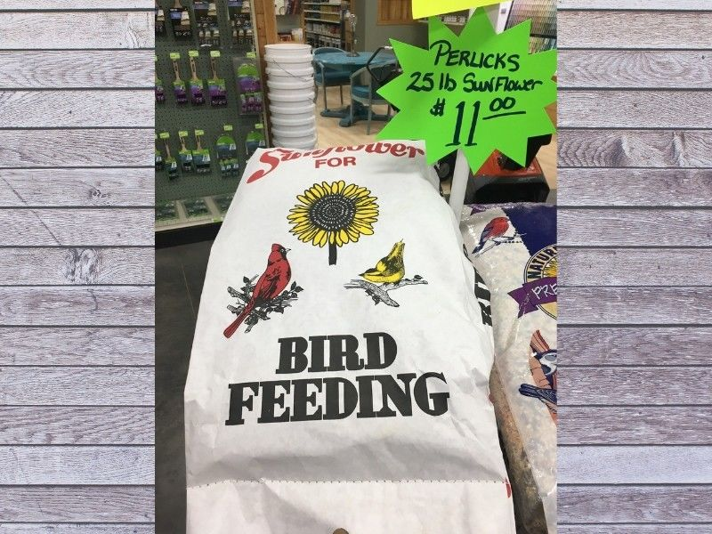 Northwoods Hardware Hank Now Carries 25lb Bags Of Perlick Seed
