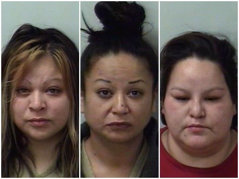Break-In On New Years Eve Leads To Charges For Three Women