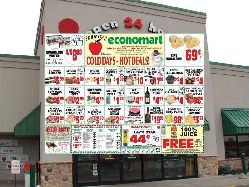 'Cold Days - Hot Deals' This Week At Schmitz's Economart!