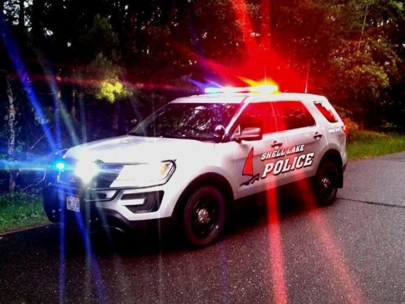 Shell Lake Police Dept. Monthly Blotter