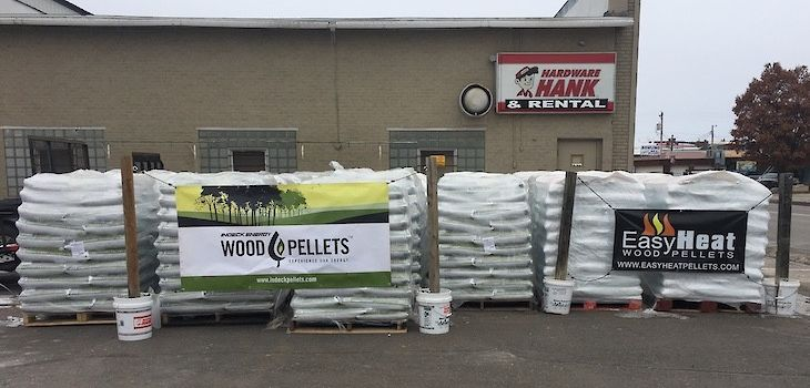 Northwoods Hardware Hank Has You Covered For All Your Wood Pellet Heating Needs