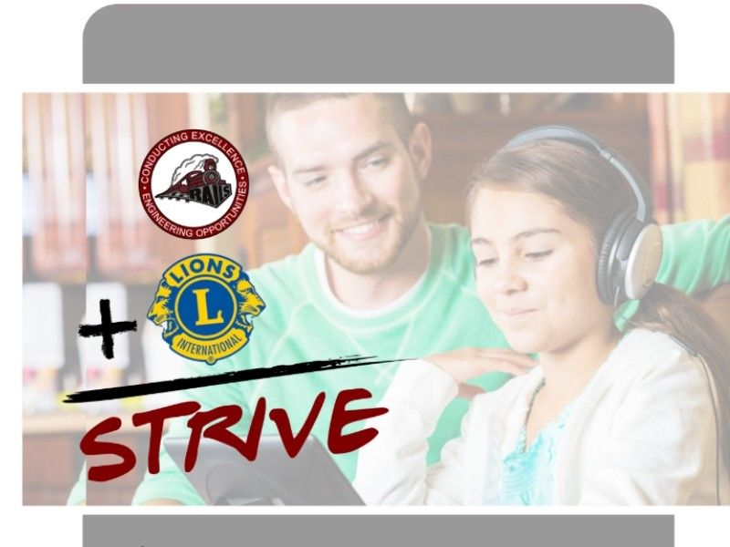 Spooner Area School District, Spooner-Trego Lions Club Introduces STRIVE Program
