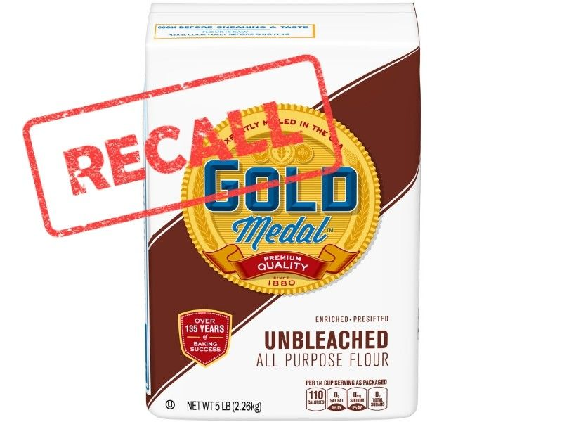 General Mills Recalls Five Pound Bags Of Gold Medal Unbleached Flour