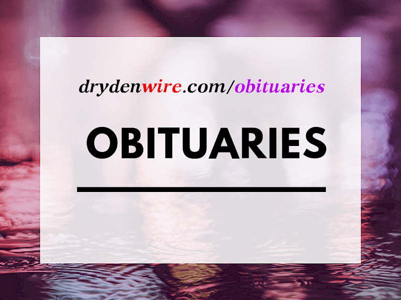 View Obituaries On DrydenWire