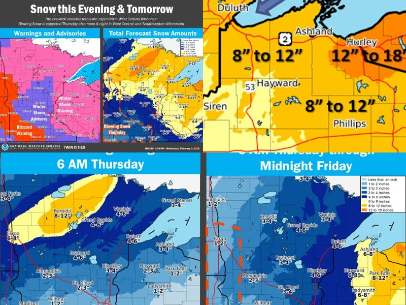 SITUATION REPORT: Snow Tonight Through Thursday