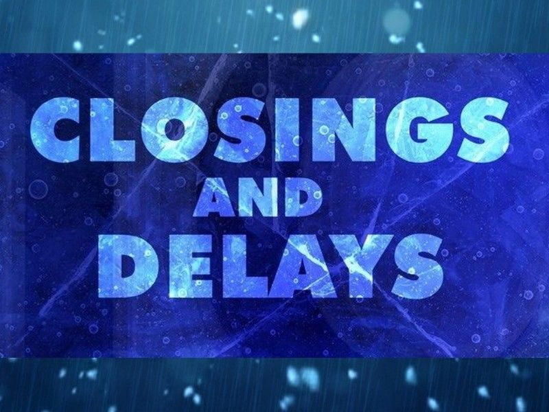 School Closings & Delays For Friday