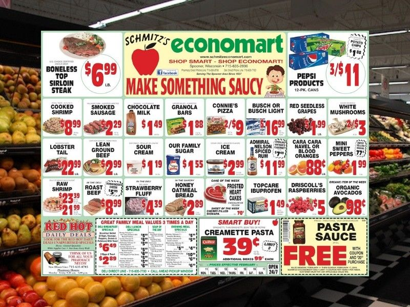 This Week's Flyer From Schimtz's Economart!