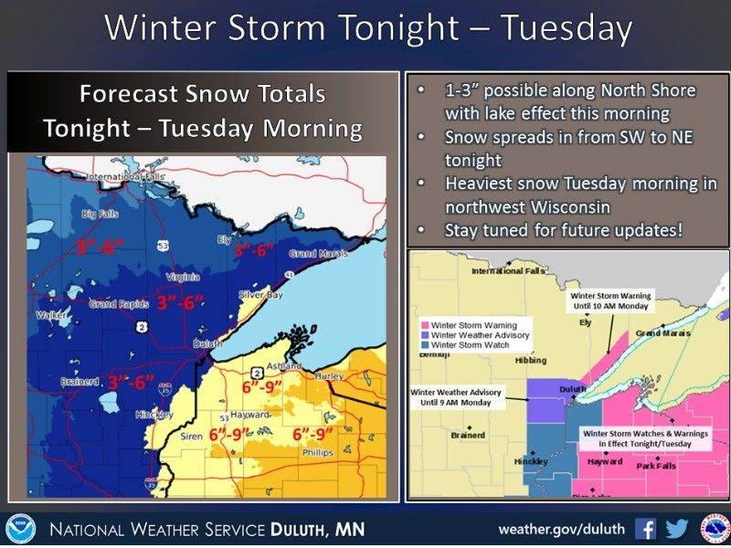 Winter Storm Tonight - Tuesday