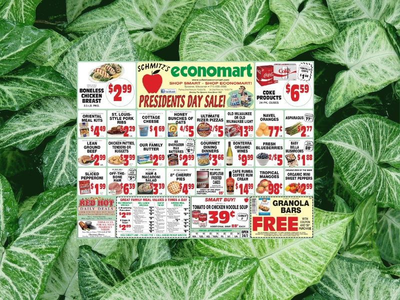 This Week's Flyer From Schmitz's Economart!