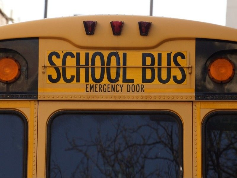 Two Spooner School Buses Involved In Minor Collision