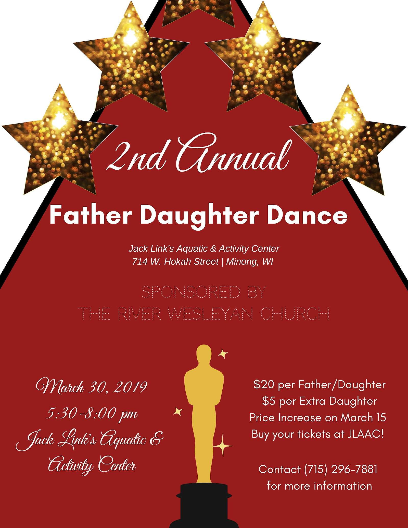 2nd Annual Father Daughter Dance At JLAAC In Minong | Recent