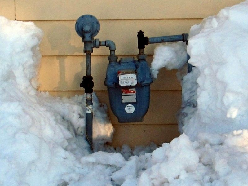Advisory: Make Sure To Clear Meters, Appliance Vents Following Snowfall