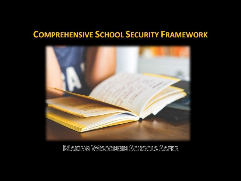 Office Of School Safety Releases Comprehensive School Security Framework