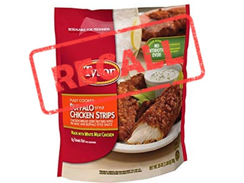 Tyson Recalls 69,000 Pounds Of Chicken Strips
