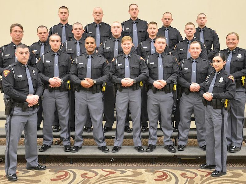 Governor Evers Welcomes 16 New Wisconsin State Patrol Officers