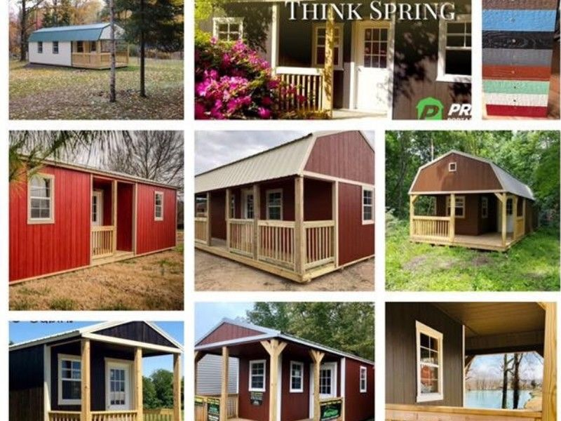 Order Your Building Now To Have It Ready For Delivery Before Summer Hits!