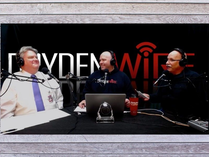 WATCH: Spooner School Superintendent Dave Aslyn On DrydenWire Live!